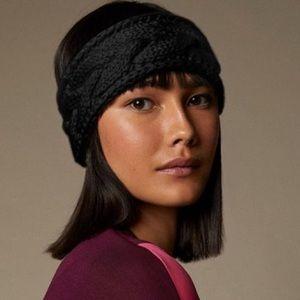 2/$20 🛍️ Love & Lore Black Cable Knit Headband